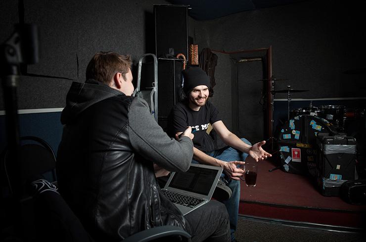 Интервью для Cosmopolitan. Фото - Константин Гуляев